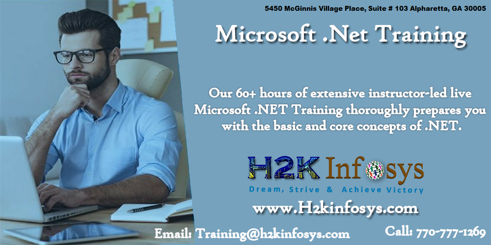 .Net Online Training Classes and Placement