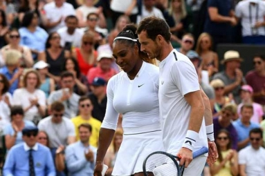 Andy Murray and Serena Williams Knocked out of Wimbledon Mixed Doubles Race