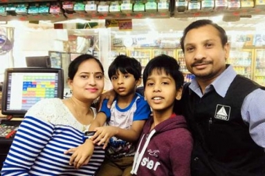 NRI Couple's kind Gesture for Homeless Family in Telangana