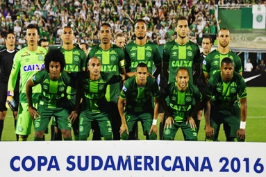 Flight, transporting Brazilian football team, crashed!